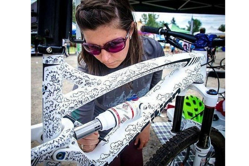 Are these the slickest custom paint jobs ever bicycle