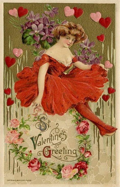 VictorianvalentineCardsVictorianScenes – Vintage Victorian Valentine Cards