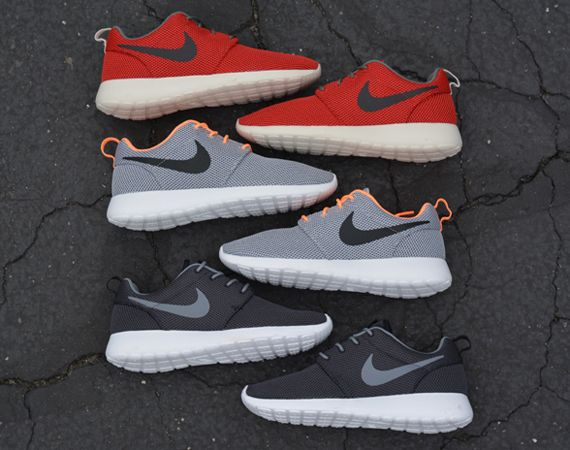 nike roshe run all colors
