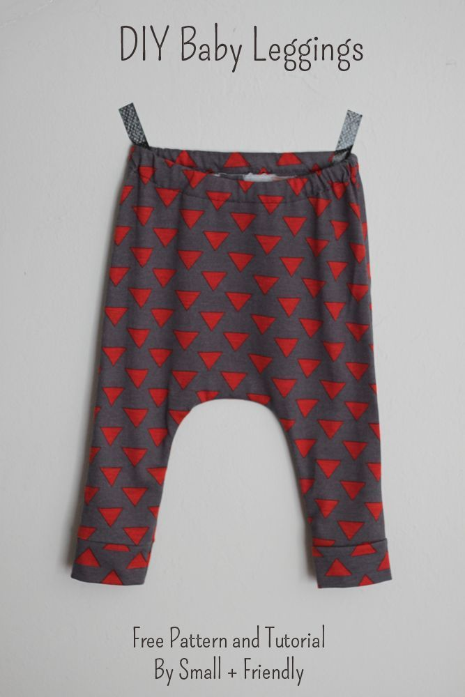 Free Sewing Patterns! Baby Leggings and Shorts | Free baby sewing ...