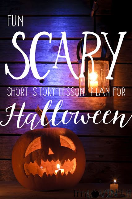 Scary Short Story Lesson Plan for Halloween! Peek at My Week