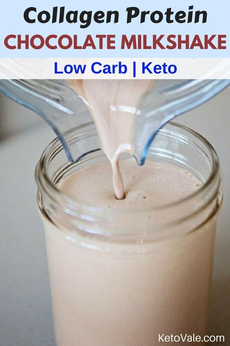 Collagen Protein Shake | Recipe | Ketogenic | Low carb smoothies, Coconut milkshake, Keto ...
