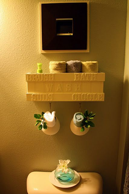 Need for my bathroom and the kids...a window box turned into bath ...
