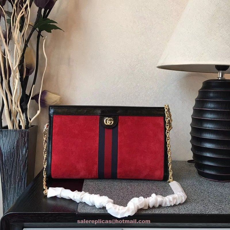 0327d040c Gucci Ophidia GG medium shoulder bag 503876-RED | Luxury Clutches ...