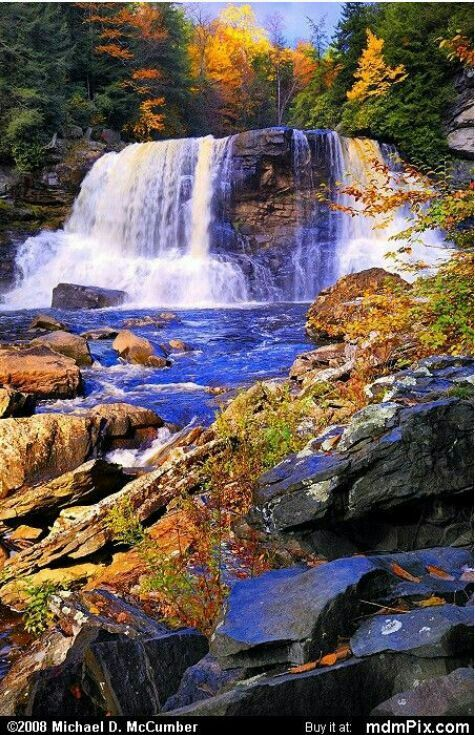 Black Water Falls West Virginia Blackwater Falls State Park Waterfall Beautiful Waterfalls