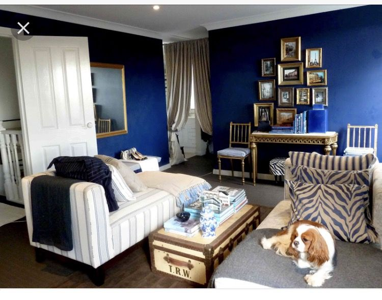 Best Pin By Alo Law On Bedroom Idea Navy Blue Gold White 640 x 480