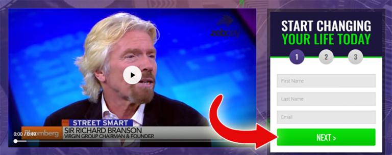 richard branson è investire in trader bitcoin)