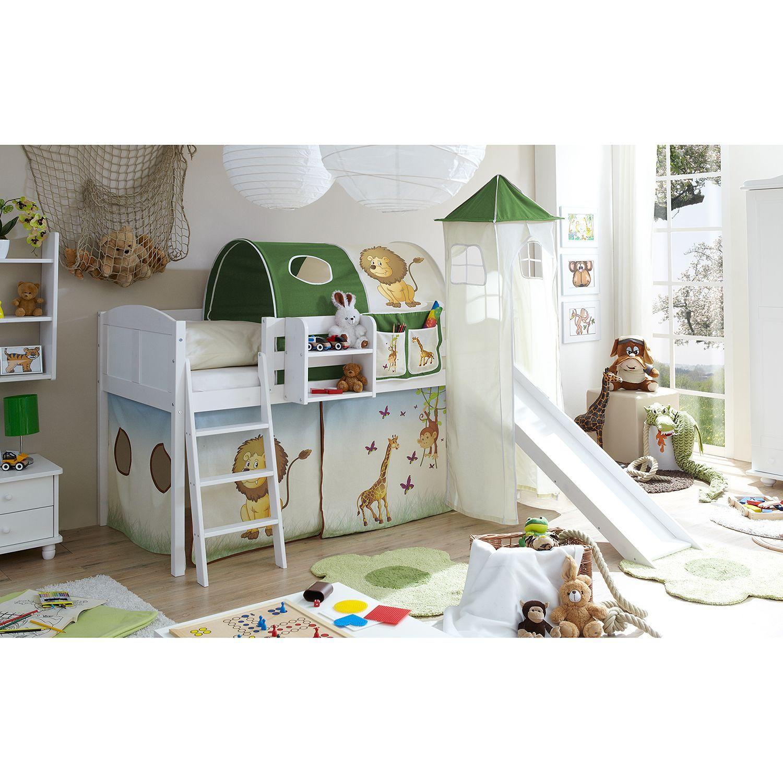 Kinderhochbetten | Hochbett mit Treppe online kaufen | home24