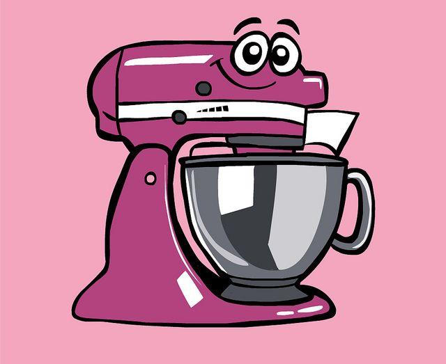 Cartoon Food Processor ~ Kitchenaid cartoon kjøkkenmaskiner pinterest