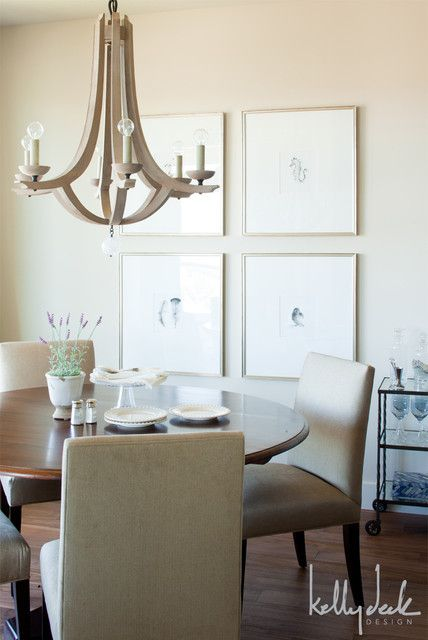 Kelly Deck Design dining rooms Arteriors Manning Chandelier