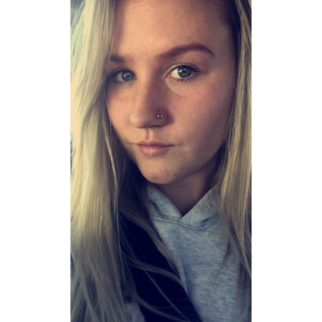 Covering up nose piercing for work  Double nose piercing Loving it  Earingspiercings  Pinterest