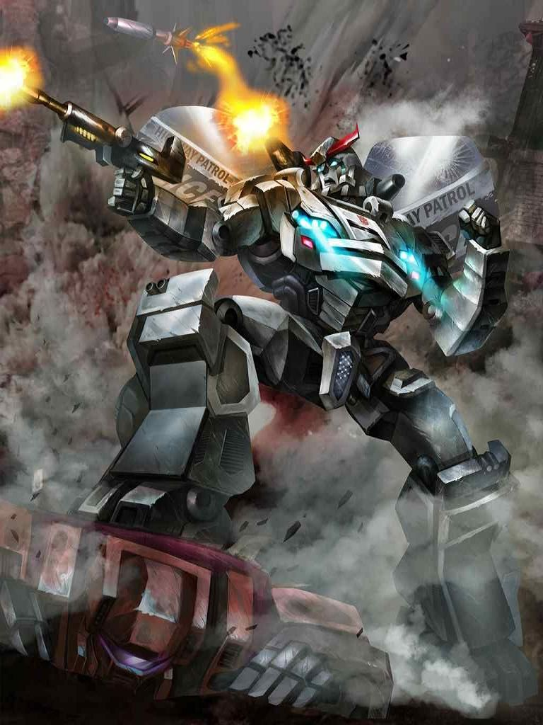 Autobot Prowl Artwork From Transformers Legends Game