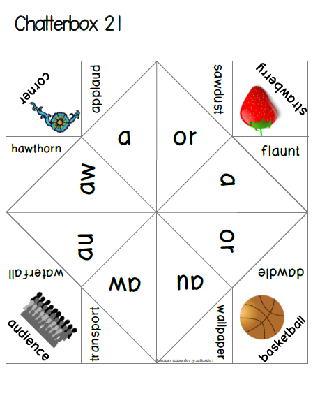 Phonics cootie catchers set b phonics spelling words and language phonics cootie catchers set b phonics gamesspelling wordsword ccuart Images