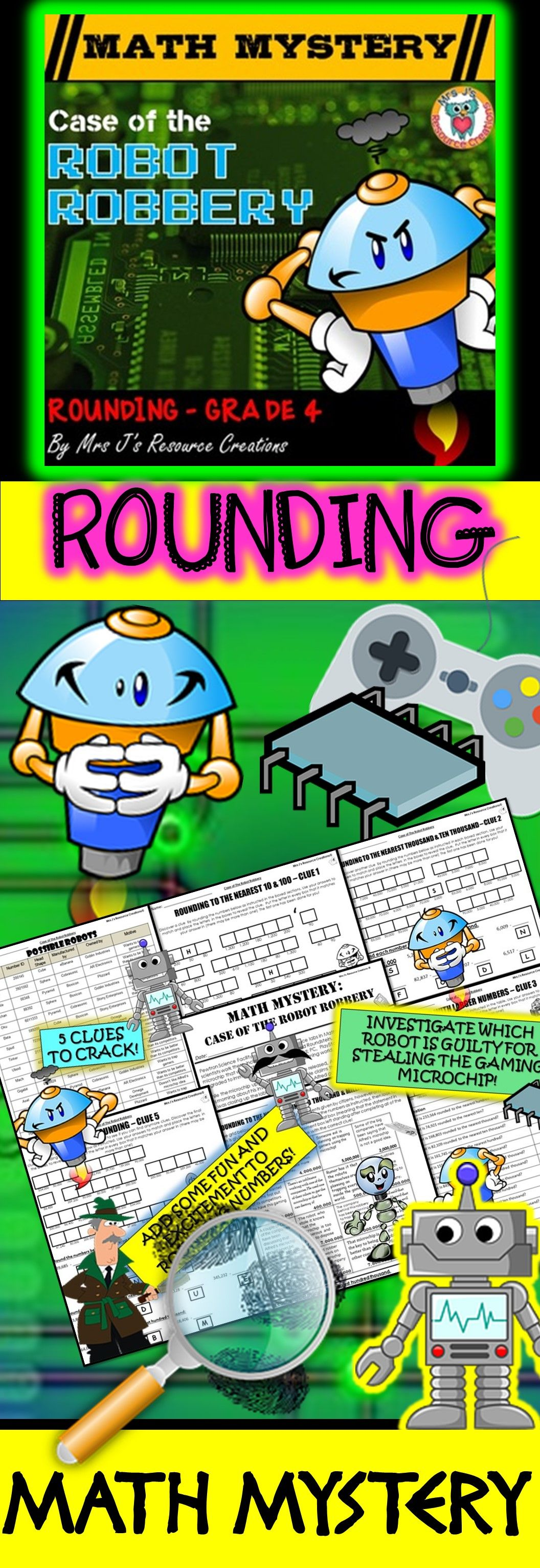 Rounding Review Multi Digit Whole Numbers Up To Millions
