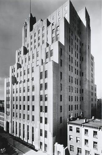 Art Deco New York City Stella Tower Formerly New York