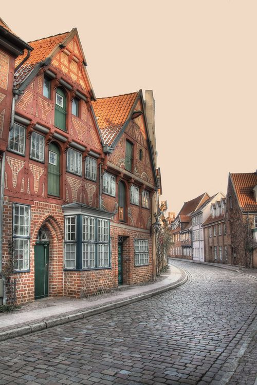 Lüneburg Altstadt (by photograph painter)