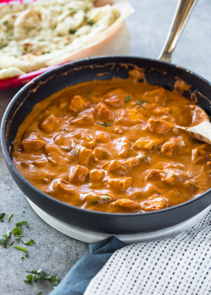 Easy 20 minute butter chicken | gimme delicious images