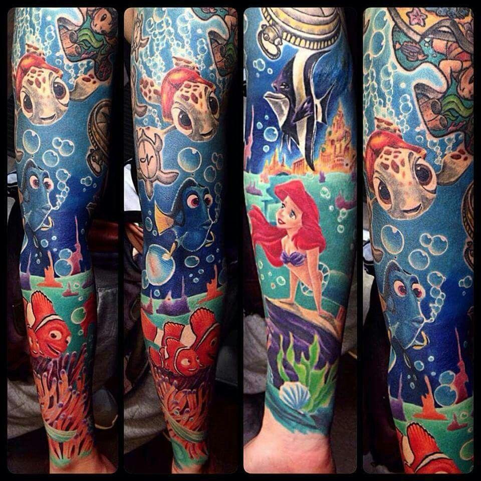 Disney Tattoo Arm