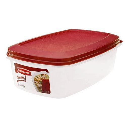 Rubbermaid HPFG4025RDCHILI Durable Rectangle 24 Gallon Food Storage