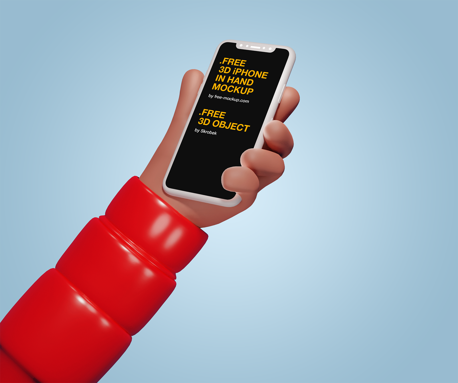 Download Free 3d Iphone In Hand Mockup Free Mockup Mockup Free Mockup Iphone