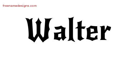 Gothic Name Tattoo Designs Walter Download Free Free Name Designs Name Tattoo Designs Name Tattoo Name Design