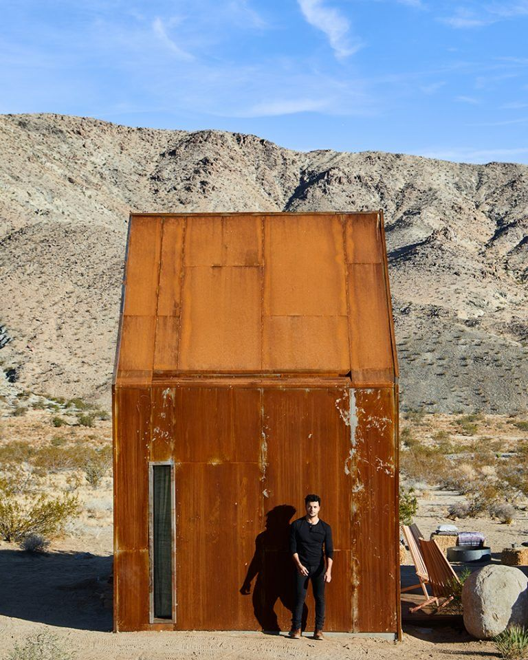 Photo of this 'folly' desert retreat is designed for the contemporary traveler looking to live off the grid