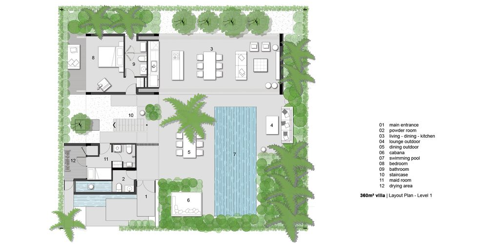 Brilliant Modern Luxury Tropical Villas Design Google Search Drawings Largest Home Design Picture Inspirations Pitcheantrous