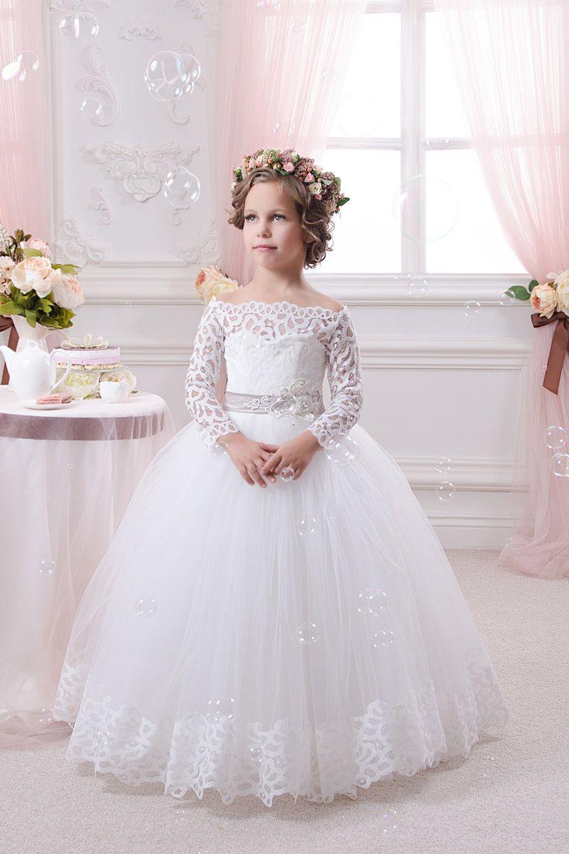 b1964bf00 Vestido barato de casamento bebel. Vestido barato de casamento bebel Vestido  Para Niñas Boda ...