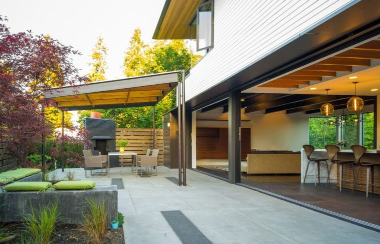 What Terrace Shelter For Your Outside Discover Our Trend Ideas Furniture Design Decoration Modern Patio Design Covered Patio Design Patio Design