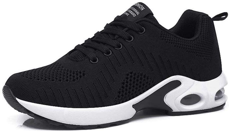 Damen Schuhe Sneaker Sportschuhe Atmungsaktiv Laufen Freizeit Stretch Turnschuhe