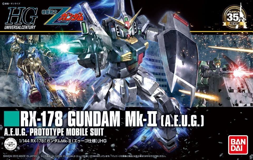 Mobile Suit Z Gundam HGUC 1//144 GM II AEUG Color Version