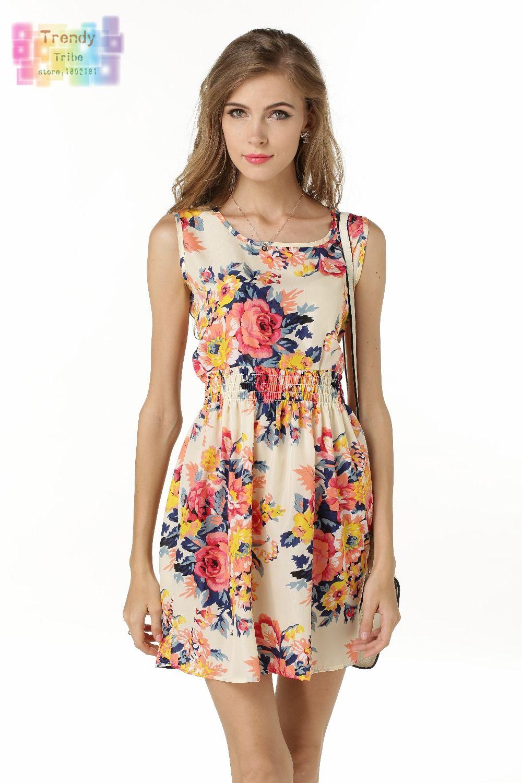Aliexpress.com : Buy Sundress Party Summer Women Dress Casual ...