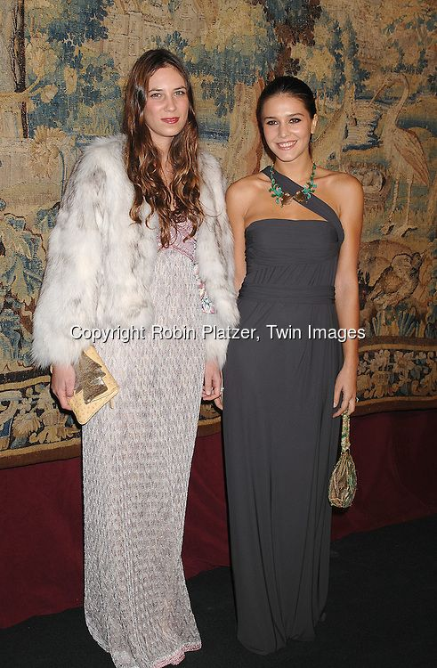 Tatiana Santo Domingo and Margarita Missoni..arriving at The 7th on Sale Black Tie Gala Dinner on ..November 15, 2007 at The 69th Regiment Armory in New York (491×750)