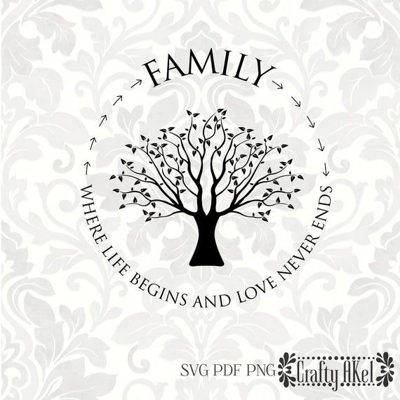 Download Family; Where life begins and love never ends [family tree ...