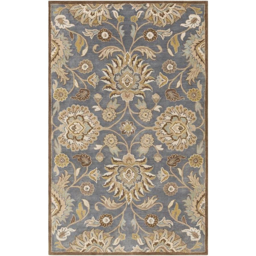 Surya Caesar 10 Ft X 14 Ft Traditional Area Rug Denim Cae1202 1014 In 2020 Traditional Area Rugs Rugs Area Rugs