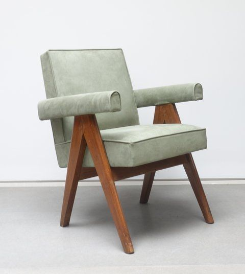 Fauteuil Office Chair Pierre Jeanneret Furniture Upholstered Swivel Chairs Upholstered Chairs