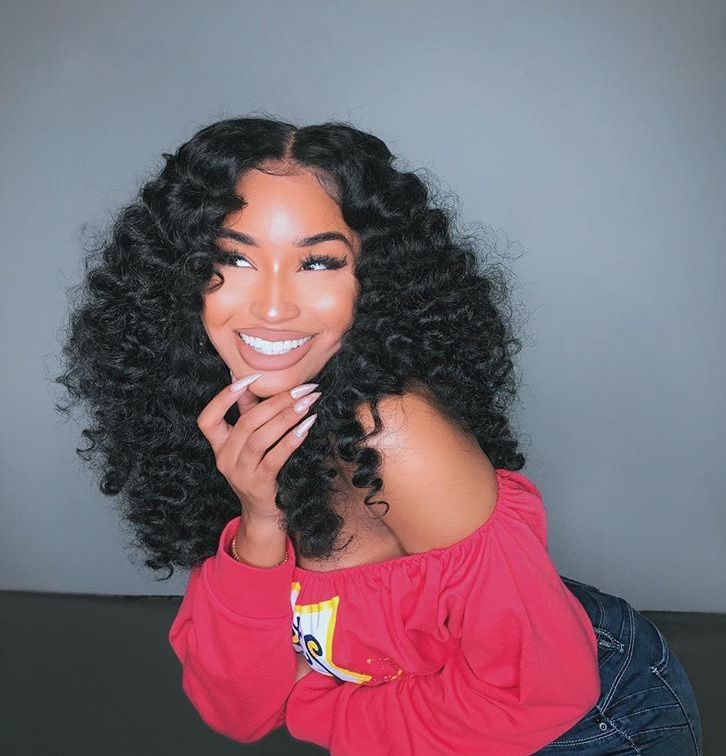 Pin By Shekinah On Tingsssss Hair Styles Natural Hair Styles Human Virgin Hair