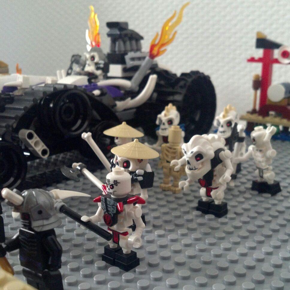 Ausmalbilder Playmobil Drachenburg : Skeleton Team Ninjago Lego Ninjago Pinterest