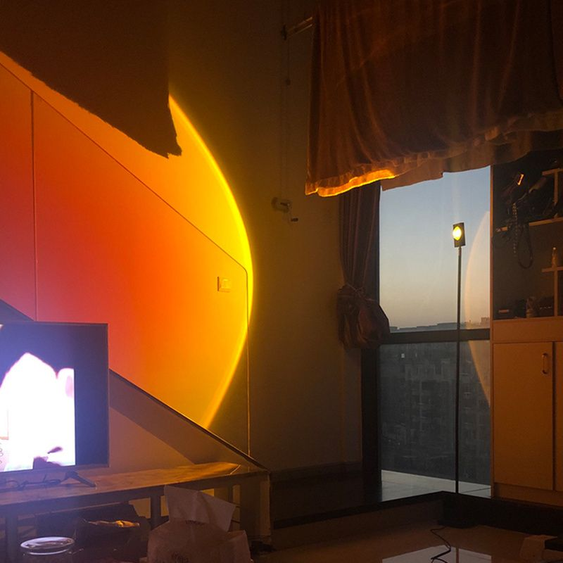 modern led floor lamp italian rainbow