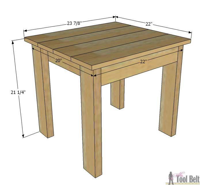 Superior Build An Easy Table And Chair Set For The Little Kids. The Set Costs About