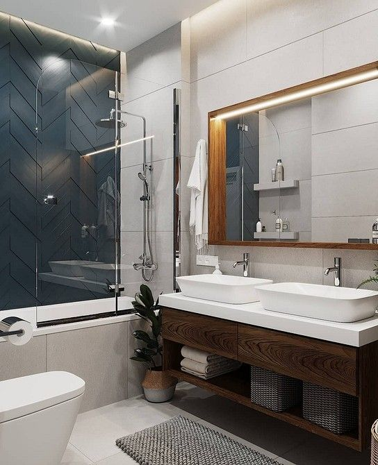 Photo of 11 ванных комнат площадью 5 кв. м, которые вдохновят вас кра