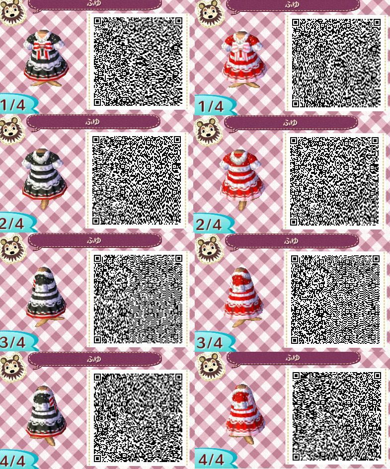 Christmas red girls dress sweater scarf Clothes purse neutral jacket QR code ac3ds animal crossing new leaf new leaf acnl acjo glong bluegreen pinkpurple cardi gshort