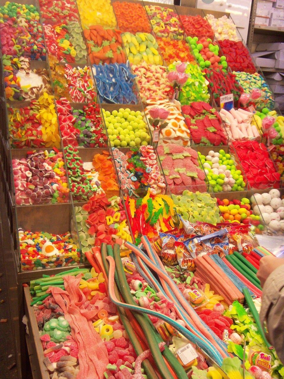 Barcelona Porno En La Calle candy, la boqueria, barcelona | candyland, la boqueria