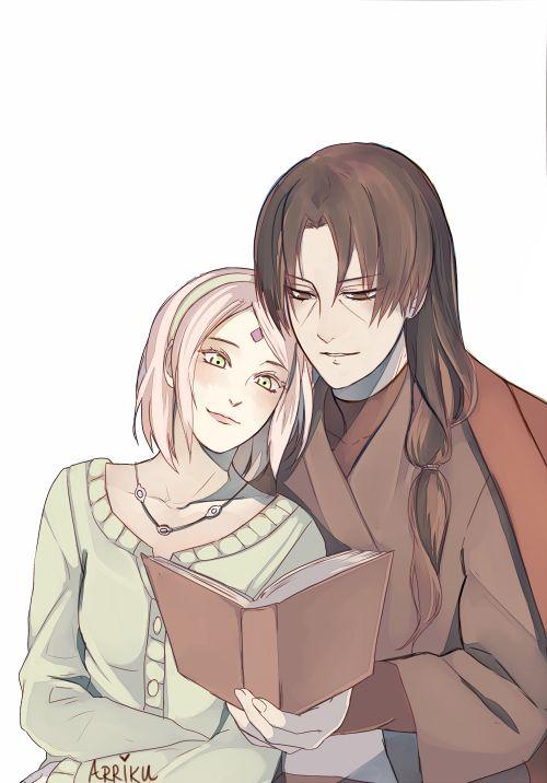 Sakura and Itachi