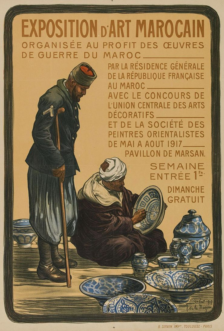 Joseph de la Nézière (18731944) Exposition d'art