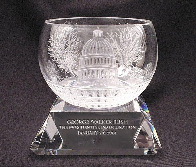 George Bush Inauguration Bowl #lenoxgift #inauguration