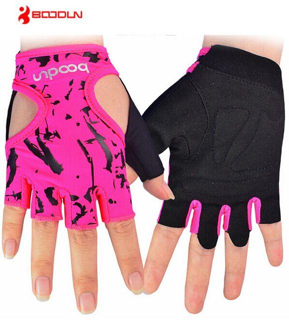 BOODUN Sports Gloves Women Exercise Fitness Training Yoga Half Finger Gloves