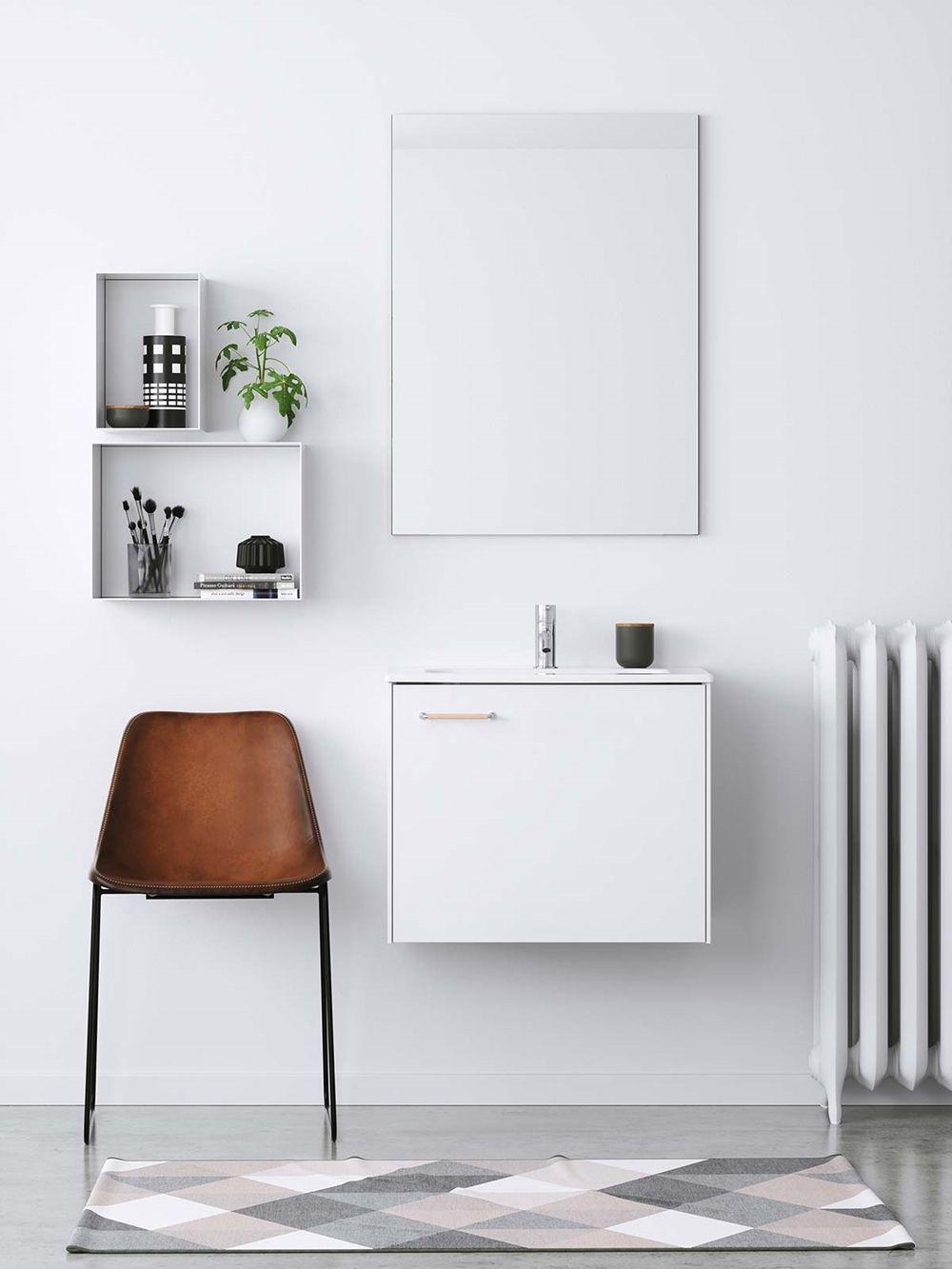 Baderomsinnredning hvit – LessMore drømmekjøkkenet | Bathroom ...