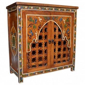 Marokko Schrank Orientalische Mobel Maurischer Stil Orientalisch