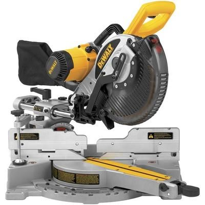 Dewalt 10 In Double Bevel Sliding Compound Mitre Saw Dw717 Home Depot Canada Sliding Compound Miter Saw Miter Saw Reviews Miter Saw